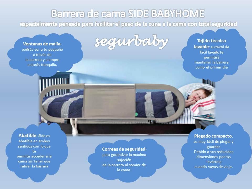 barrera de seguridad infantil para cama segurbaby