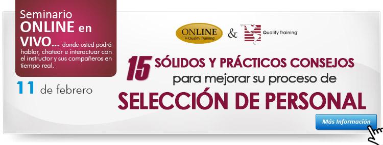 15 Solidos y practicos                    consejos para mejorar su proceso de seleccion de                    personal