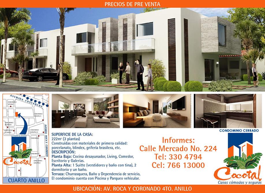 Condominio Cocotal - casas en pre ventas